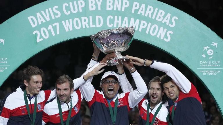 Davis Cup thay đổi thể thức thi đấu từ năm tới - Ảnh 1.