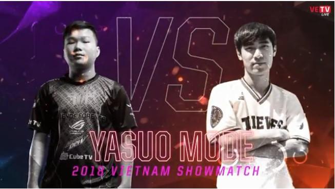 All-Star 2018 Vietnam: Kết quả trận đấu Solo Yasuo  - Ảnh 1.