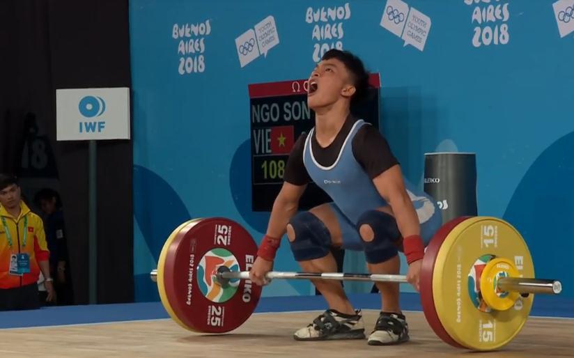 Ngô Sơn Đỉnh (56kg): Người viết tiếp hành trình thống trị của cử tạ Việt Nam ở Olympic trẻ - Ảnh 1.