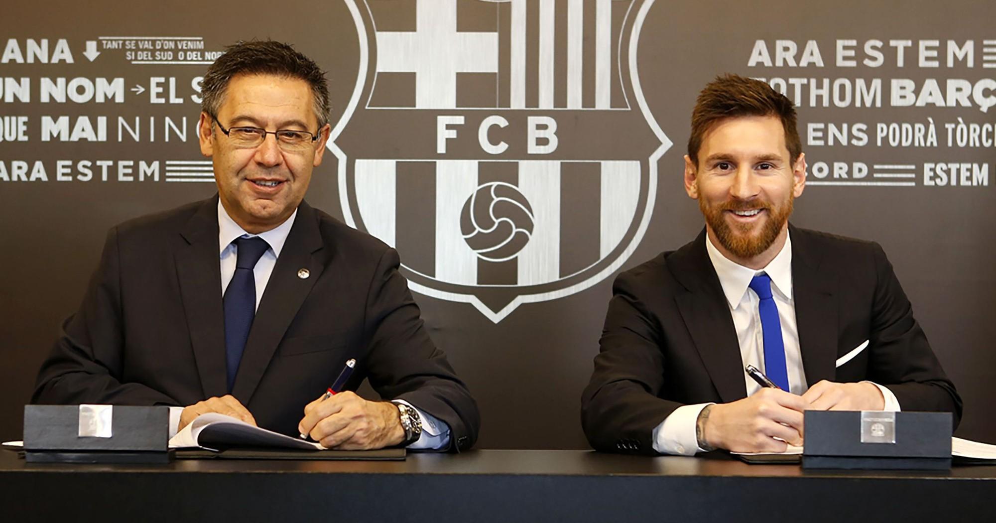 Vượt cả Real Madrid và Man Utd, Barcelona lập kỷ lục trả lương trong giới thể thao - Ảnh 2.