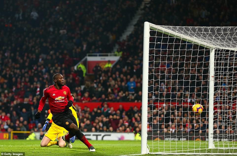 Choáng với số phút tịt ngòi của Lukaku tại Old Trafford sau khi mất hình trước Palace - Ảnh 4.