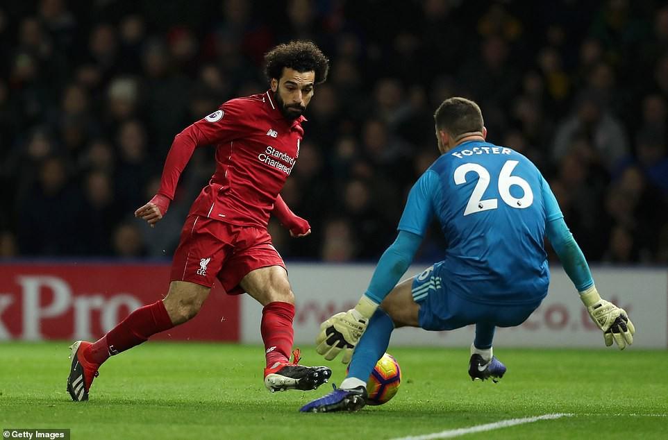 Hiệu suất khó tin của Mo Salah và top 5 điểm nhấn trận Watford - Liverpool - Ảnh 1.