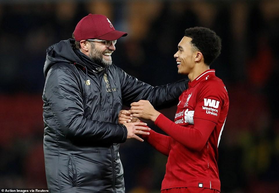 HLV Klopp phản ứng thế nào trước kỷ lục điểm số của Liverpool tại giải Ngoại hạng Anh? - Ảnh 6.