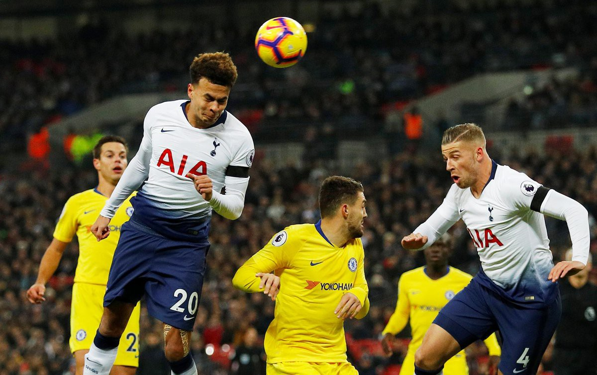 Hazard bị tước đoạt phạt đền và 5 điểm nhấn từ trận Tottenham - Chelsea - Ảnh 5.