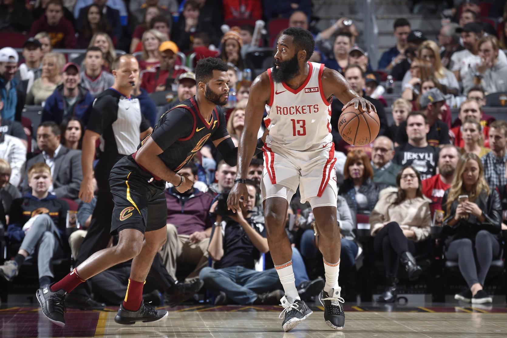Rockets ôm hận trước Cavaliers trong ngày James Harden vừa làm, vừa phá - Ảnh 1.