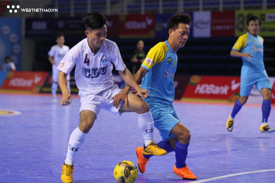 Chung kết futsal Cúp QG 2018: Sanna Khánh Hòa hạ nhà Á quân để vào gặp Thái Sơn Nam - Ảnh 3.