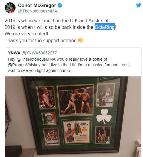 Conor McGregor xác nhận trở lại trong năm 2019, nhưng sẽ thượng đài ở đâu? - Ảnh 3.