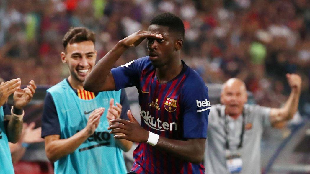 Barcelona sẽ đứng ở đâu trên BXH nếu không có những điểm số Dembele mang về? - Ảnh 5.