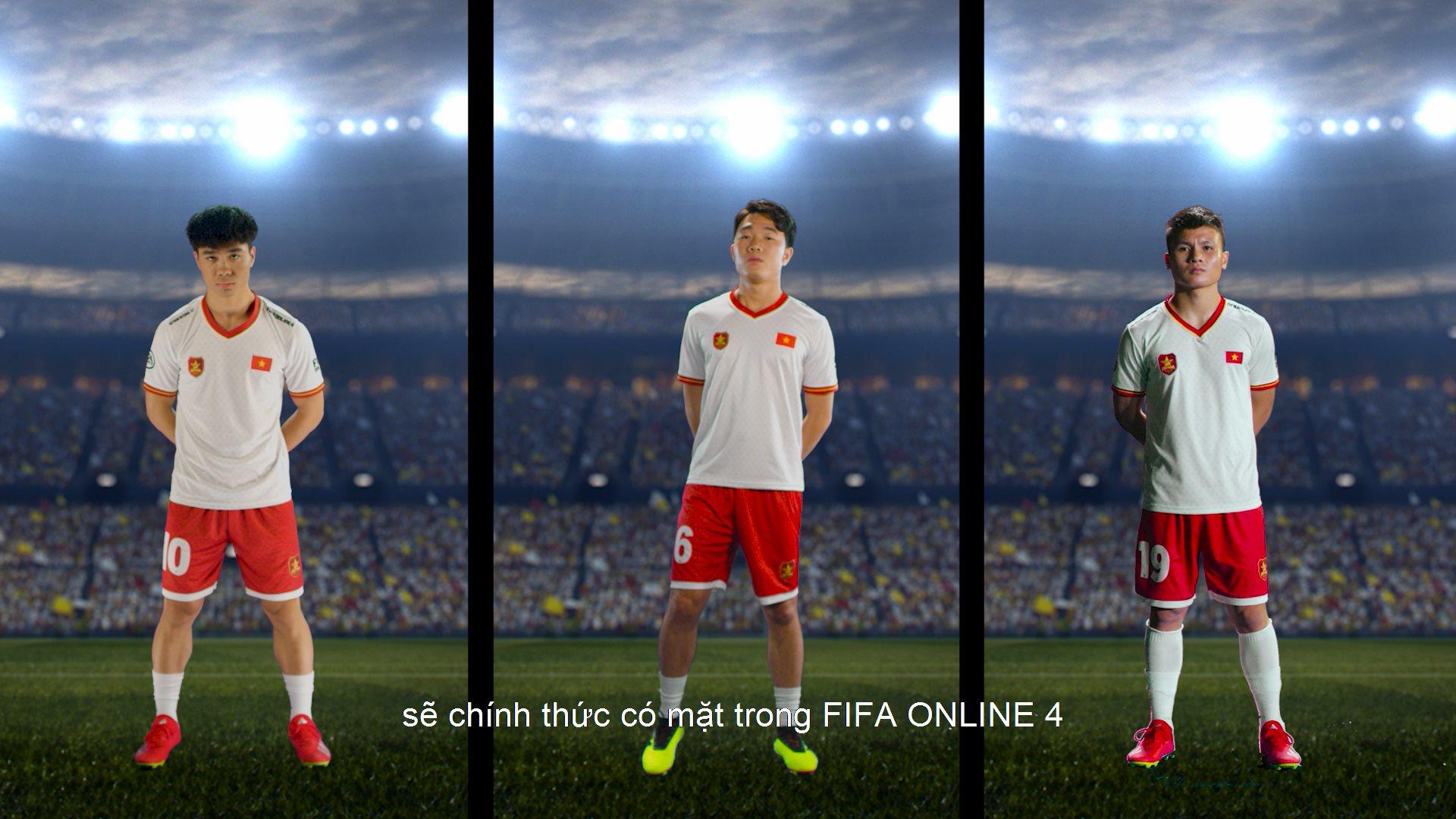 Quang Hải - Xuân Trường - Công Phượng chính thức góp mặt trong FIFA Online 4 Việt Nam - Ảnh 1.