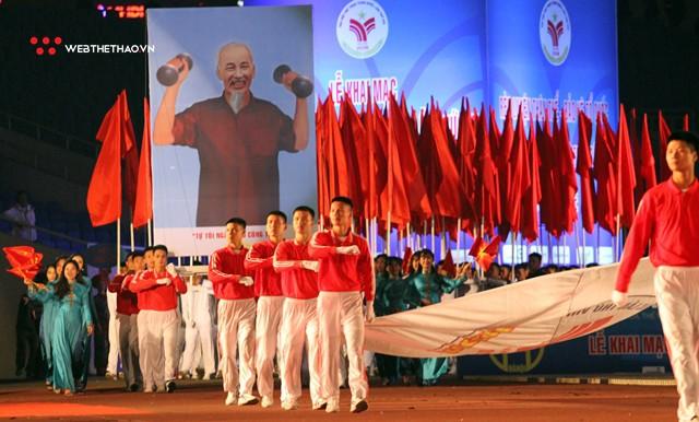 Khai mạc Đại hội thể thao toàn quốc 2018: Hà Nội so kè TPHCM ngôi vị Nhất toàn đoàn - Ảnh 1.