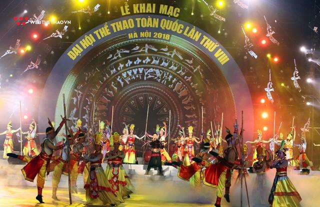 Khai mạc Đại hội thể thao toàn quốc 2018: Hà Nội so kè TPHCM ngôi vị Nhất toàn đoàn - Ảnh 12.
