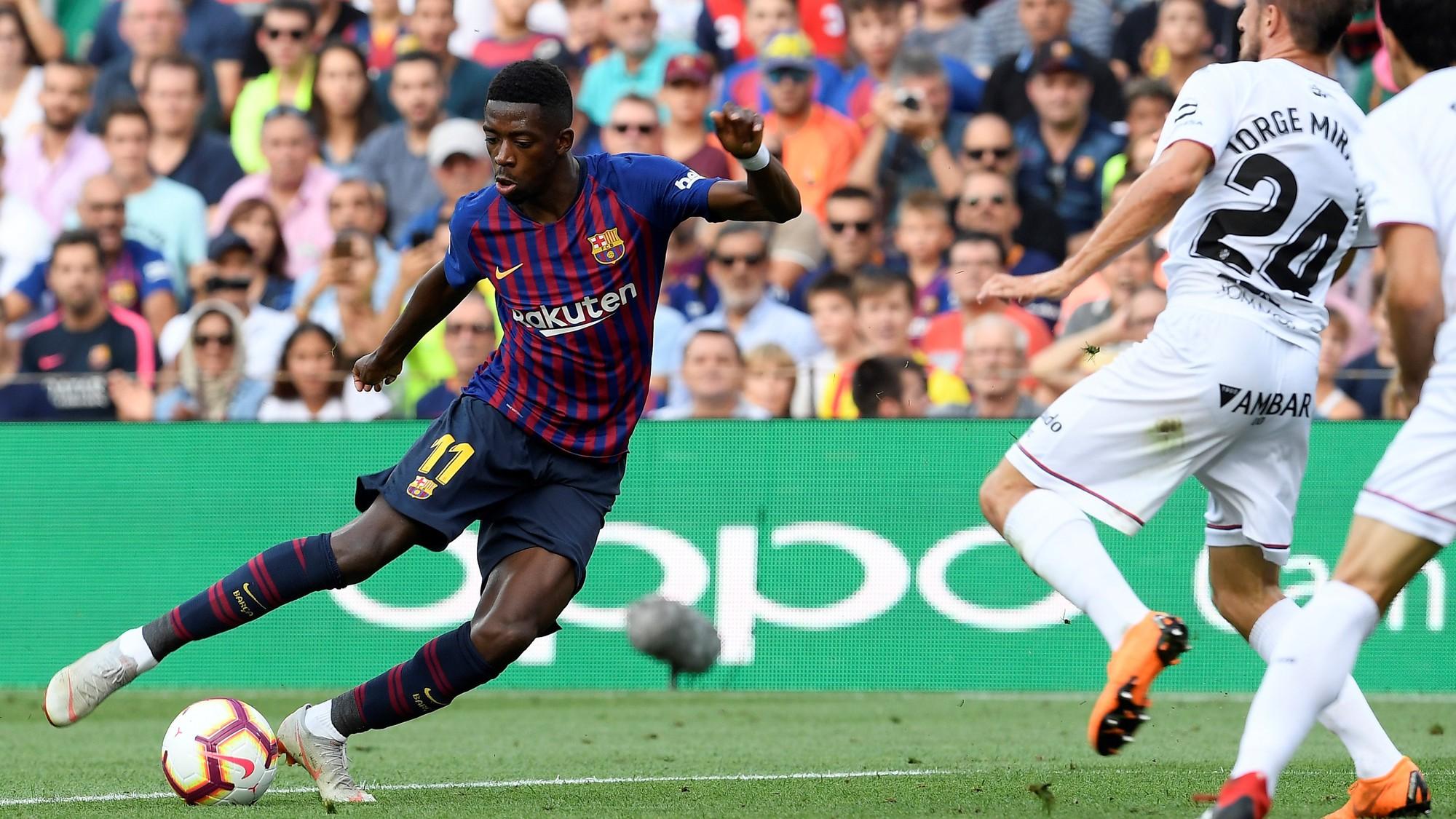 Barcelona sẽ đứng ở đâu trên BXH nếu không có những điểm số Dembele mang về? - Ảnh 4.