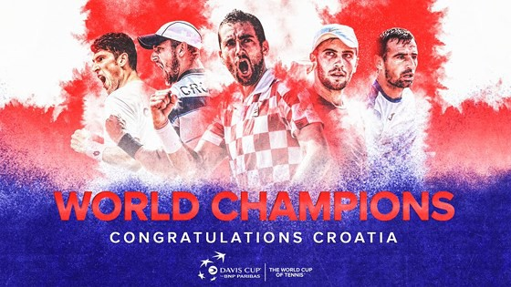Marin Cilic giúp ĐT Croatia giành chức vô địch lịch sử - Ảnh 1.