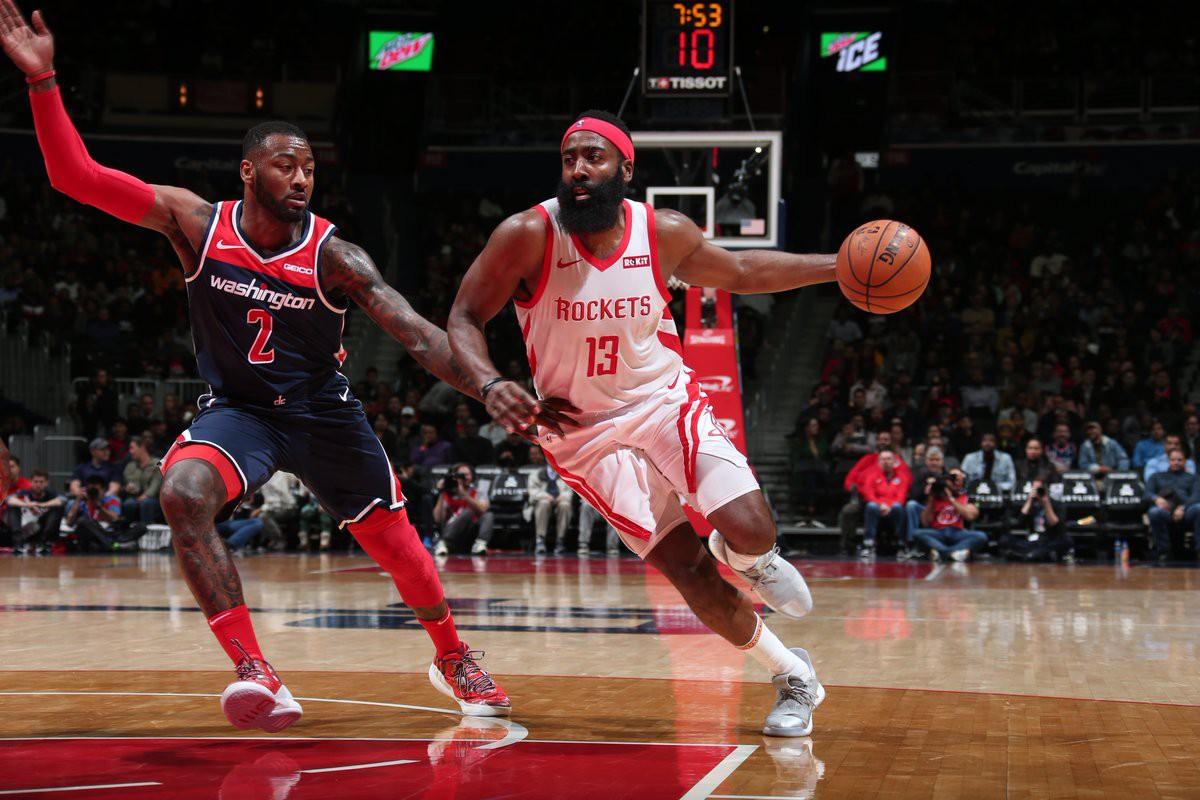Houston Rockets thua trận ở thủ đô: Thành bại tại Harden - Ảnh 1.