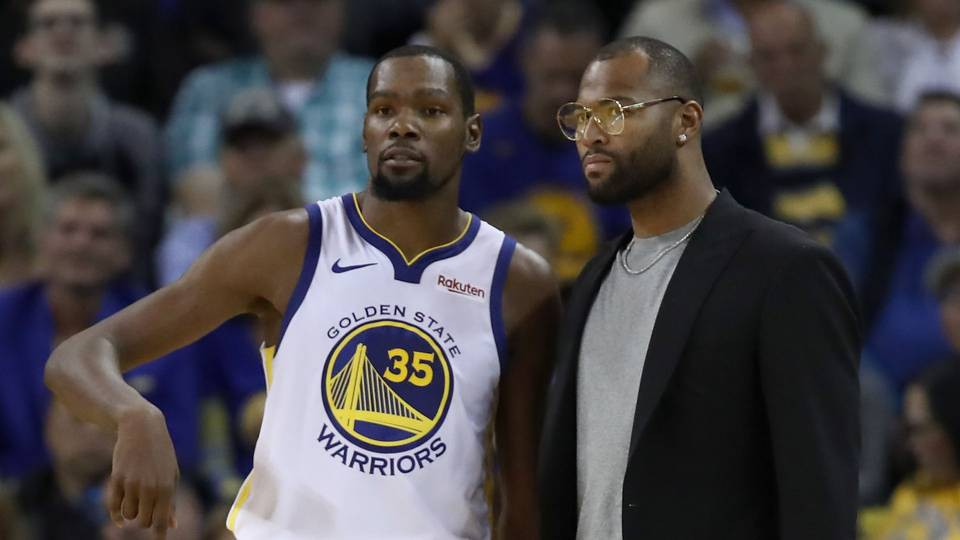 Sau Stephen Curry, đến lượt DeMarcus Cousins báo tin mừng cho fan Golden State Warriors  - Ảnh 2.