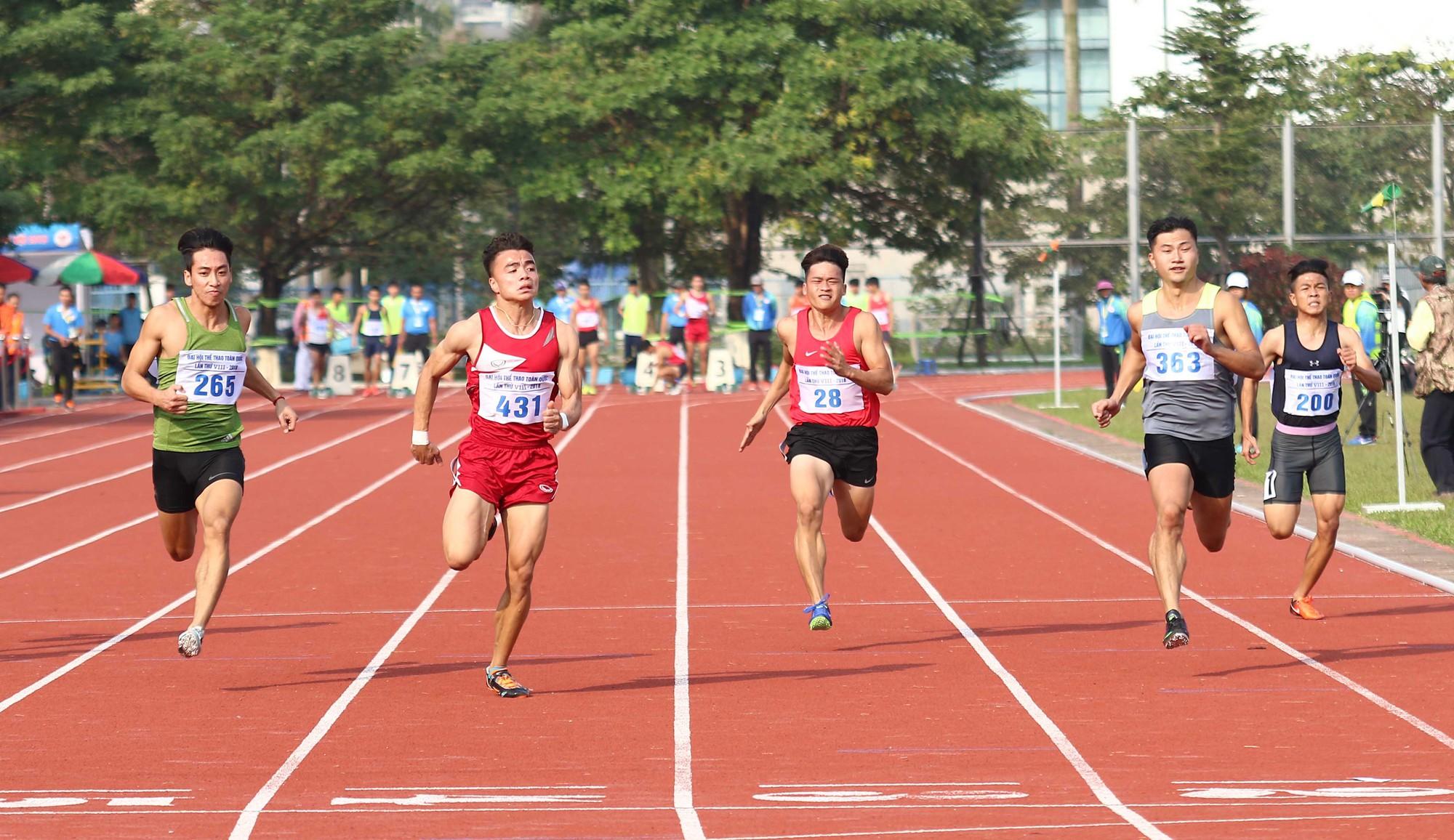 ĐH8: Ngần Ngọc Nghĩa (CAND) tỏa sáng trên đường chạy 100m - Ảnh 3.
