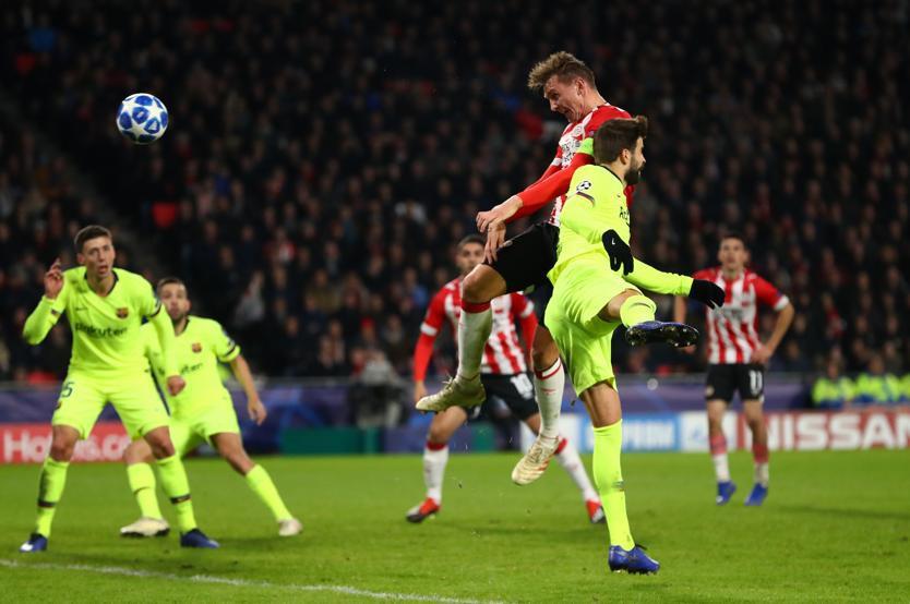 Kỷ lục bàn thắng của Messi - Pique và top 5 điểm nhấn đáng chú y ở trận PSV - Barcelona - Ảnh 5.