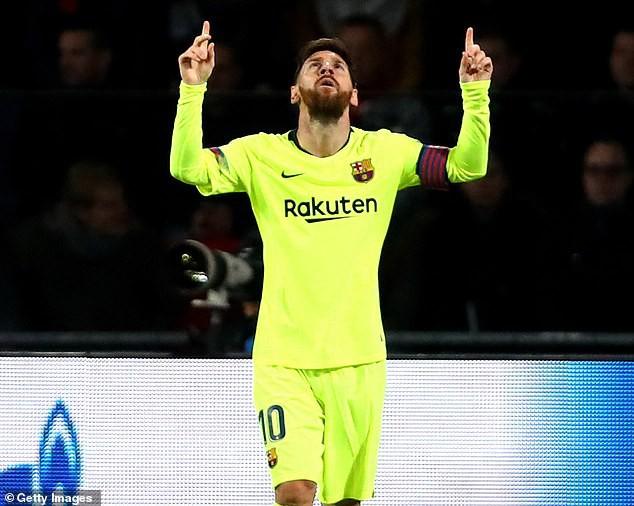 Kỷ lục bàn thắng của Messi - Pique và top 5 điểm nhấn đáng chú y ở trận PSV - Barcelona - Ảnh 1.