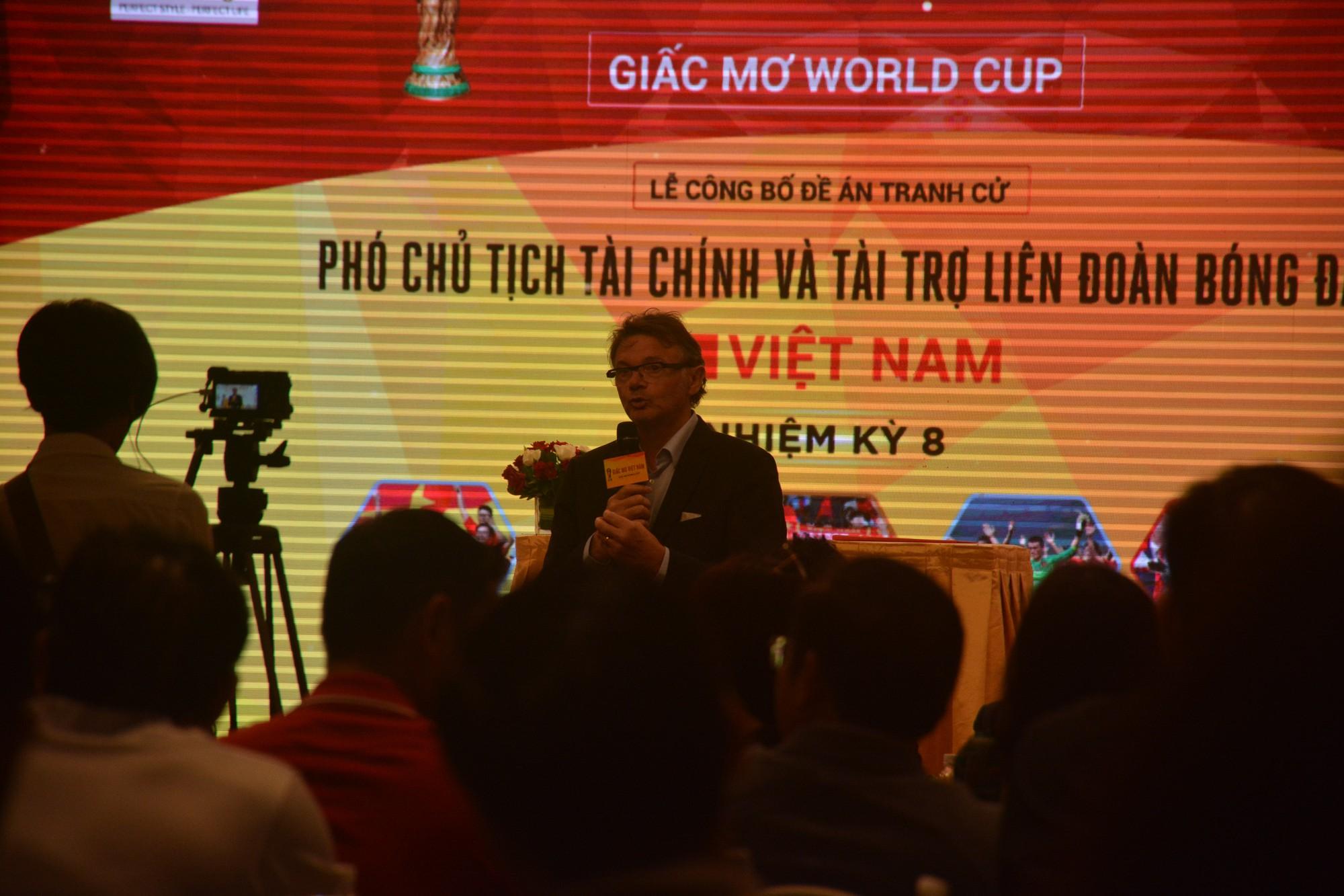 Ứng viên tranh ghế phó Chủ tịch VFF đặt chỉ tiêu đưa bóng đá Việt Nam dự World Cup - Ảnh 2.