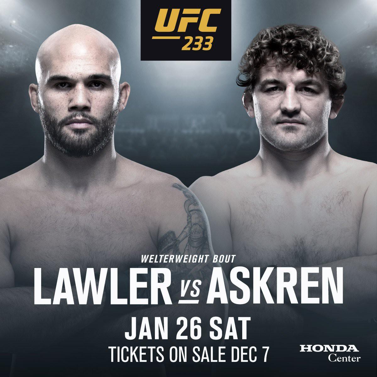 Đối thủ của Ben Askren chính thức được UFC xác nhận tại UFC 233 - Ảnh 1.