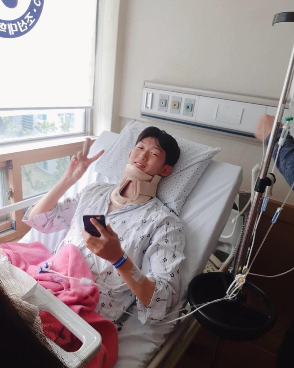 Kinh hoàng với chấn thương của sao Hàn Quốc khiến gãy đốt sống cổ và mất trí nhớ - Ảnh 4.