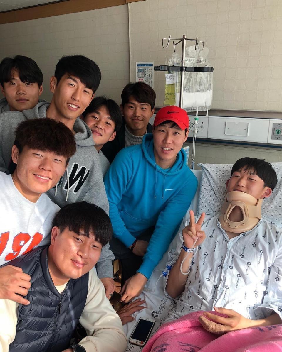 Kinh hoàng với chấn thương của sao Hàn Quốc khiến gãy đốt sống cổ và mất trí nhớ - Ảnh 3.