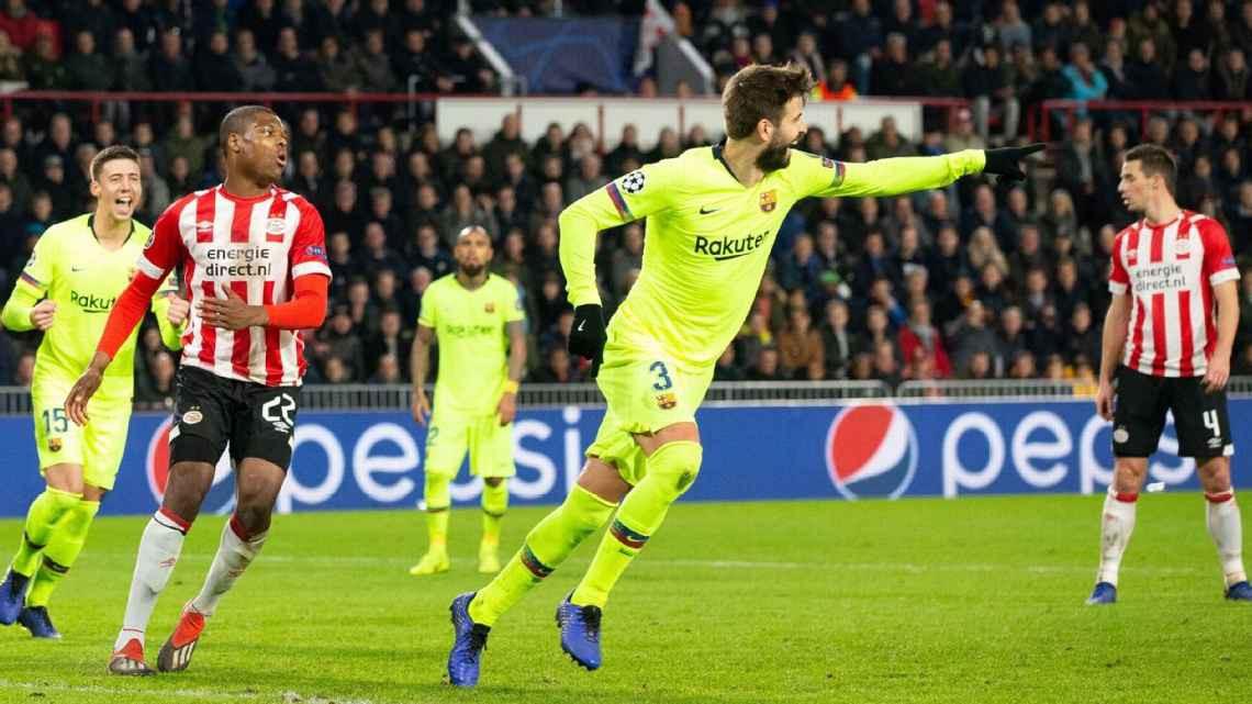 Lionel Messi tố Gerard Pique chém gió ở bàn thứ 2 của Barca vào lưới PSV - Ảnh 2.