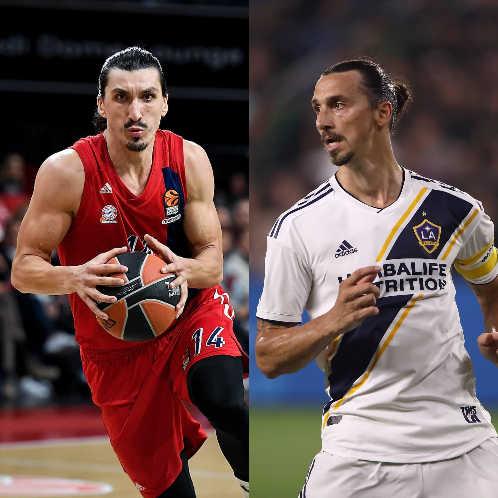 Chúa của Los Angeles Zlatan Ibrahimovic có em song sinh chơi bóng rổ chuyên nghiệp? - Ảnh 1.