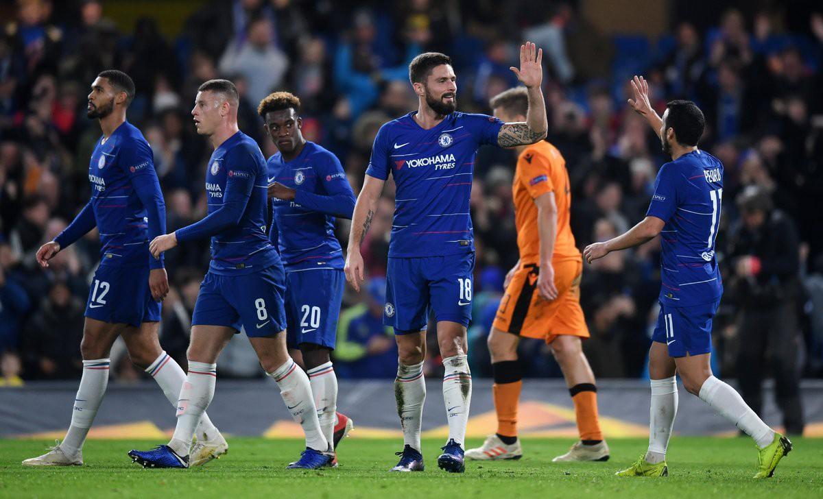 Cú đúp của Giroud, kỷ lục của Hudson-Odoi và top 5 thống kê ấn tượng trận Chelsea - PAOK - Ảnh 5.