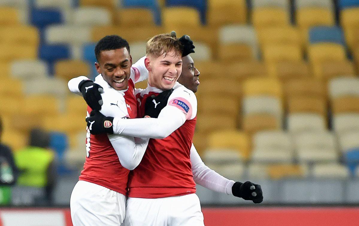 Ngày bùng nổ ngoạn mục của các tài năng trẻ và những điểm nhấn từ trận Vorskla - Arsenal - Ảnh 1.