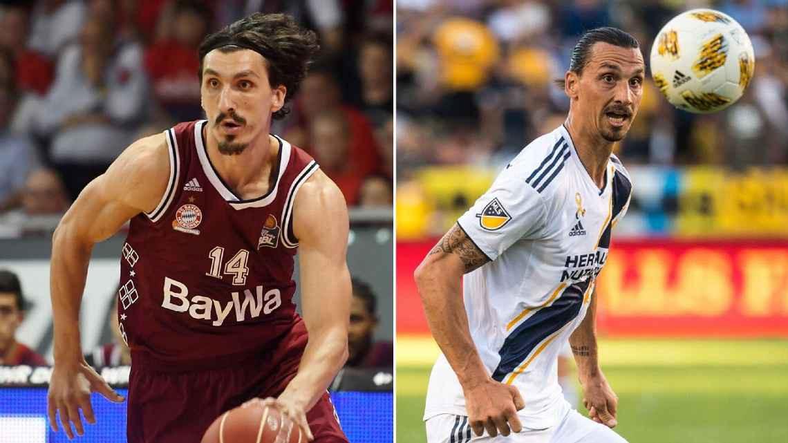 Chúa của Los Angeles Zlatan Ibrahimovic có em song sinh chơi bóng rổ chuyên nghiệp? - Ảnh 2.