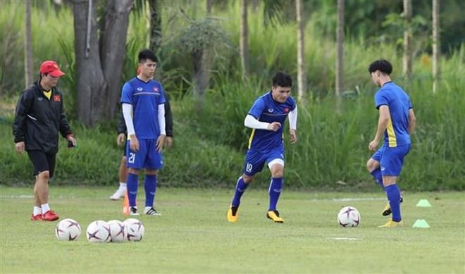 Thời tiết thử thách thầy trò huấn luyện viên Park Hang-seo - Ảnh 1.