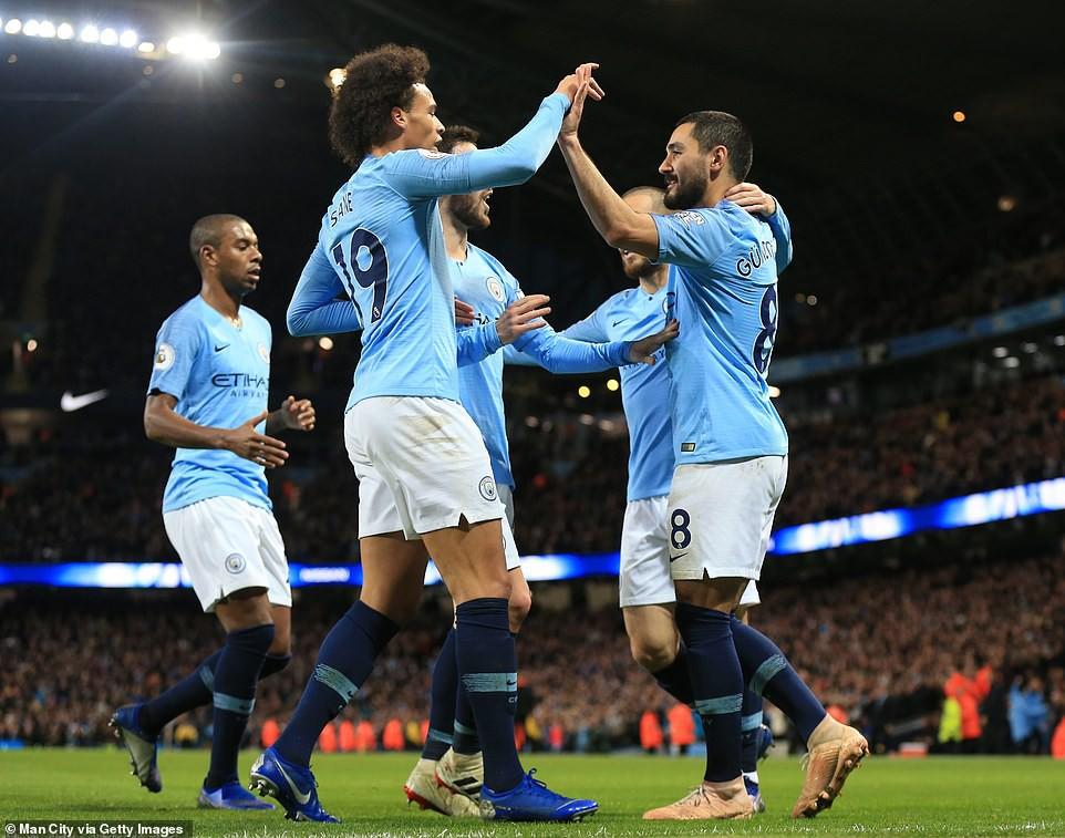 """""""Ngư ông đắc lợi"""" và Top 5 điểm nhấn khi Man City hạ Bournemouth thắng trận thứ 6 liên tiếp - Ảnh 2."""