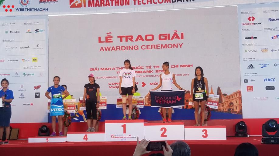 Nguyễn Khoa, Lò Thị Thanh VĐ giải chạy marathon quốc tế TPHCM - Ảnh 8.