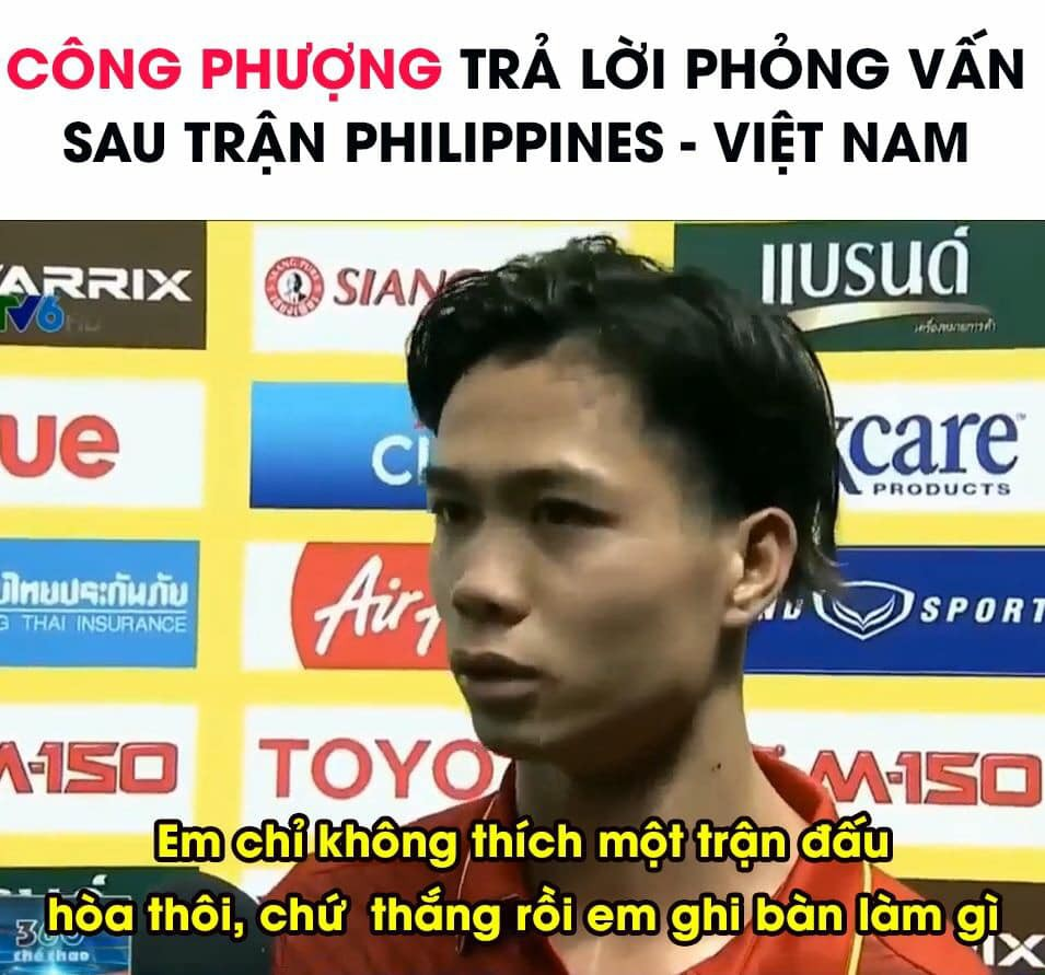 Ảnh chế chiến thắng của Việt Nam trước Philippines: Công Phượng lừa cả CĐV nhà! - Ảnh 2.