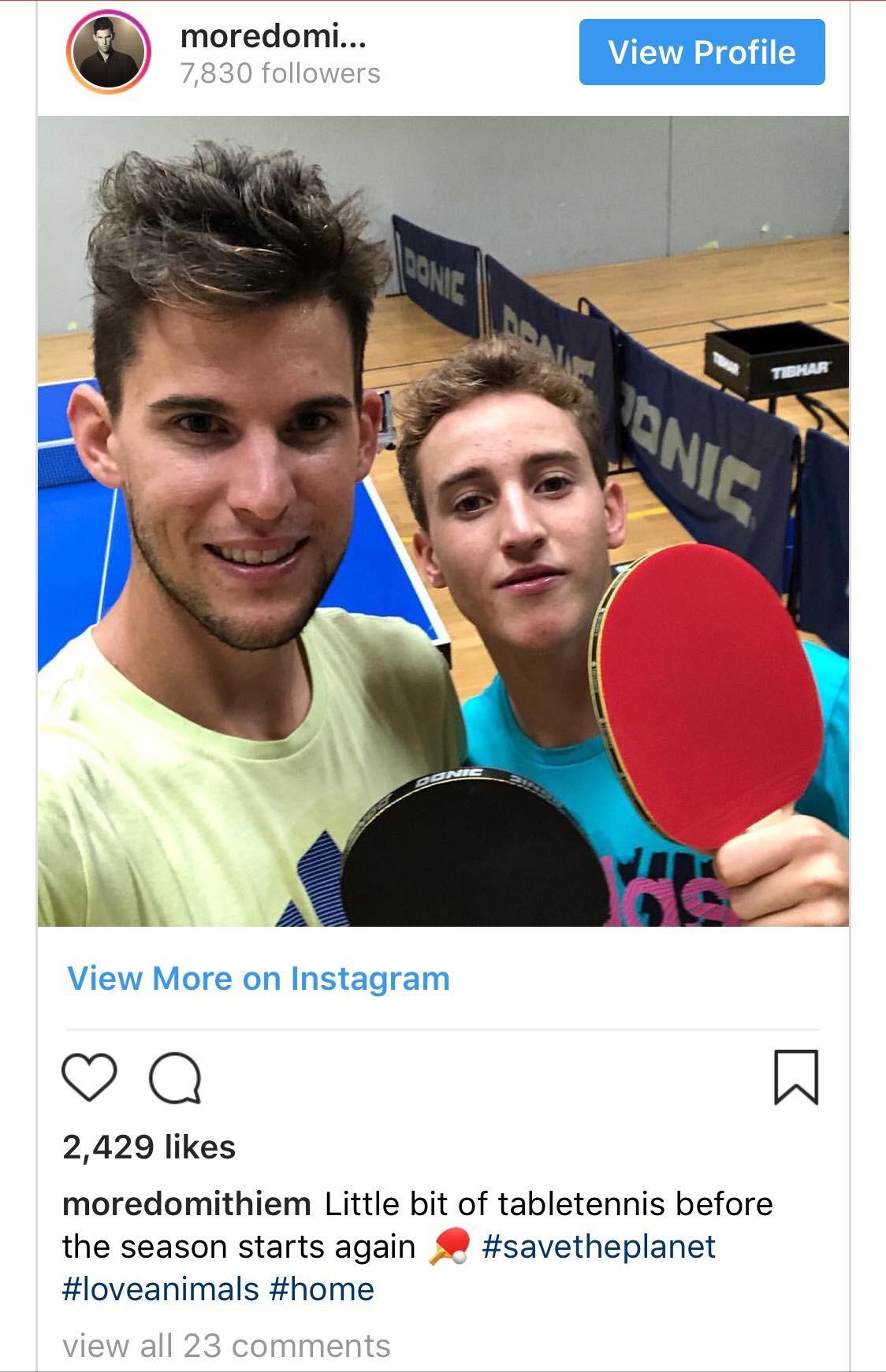 Các ngôi sao tennis tập luyện kiểu gì khi mùa giải kết thúc?