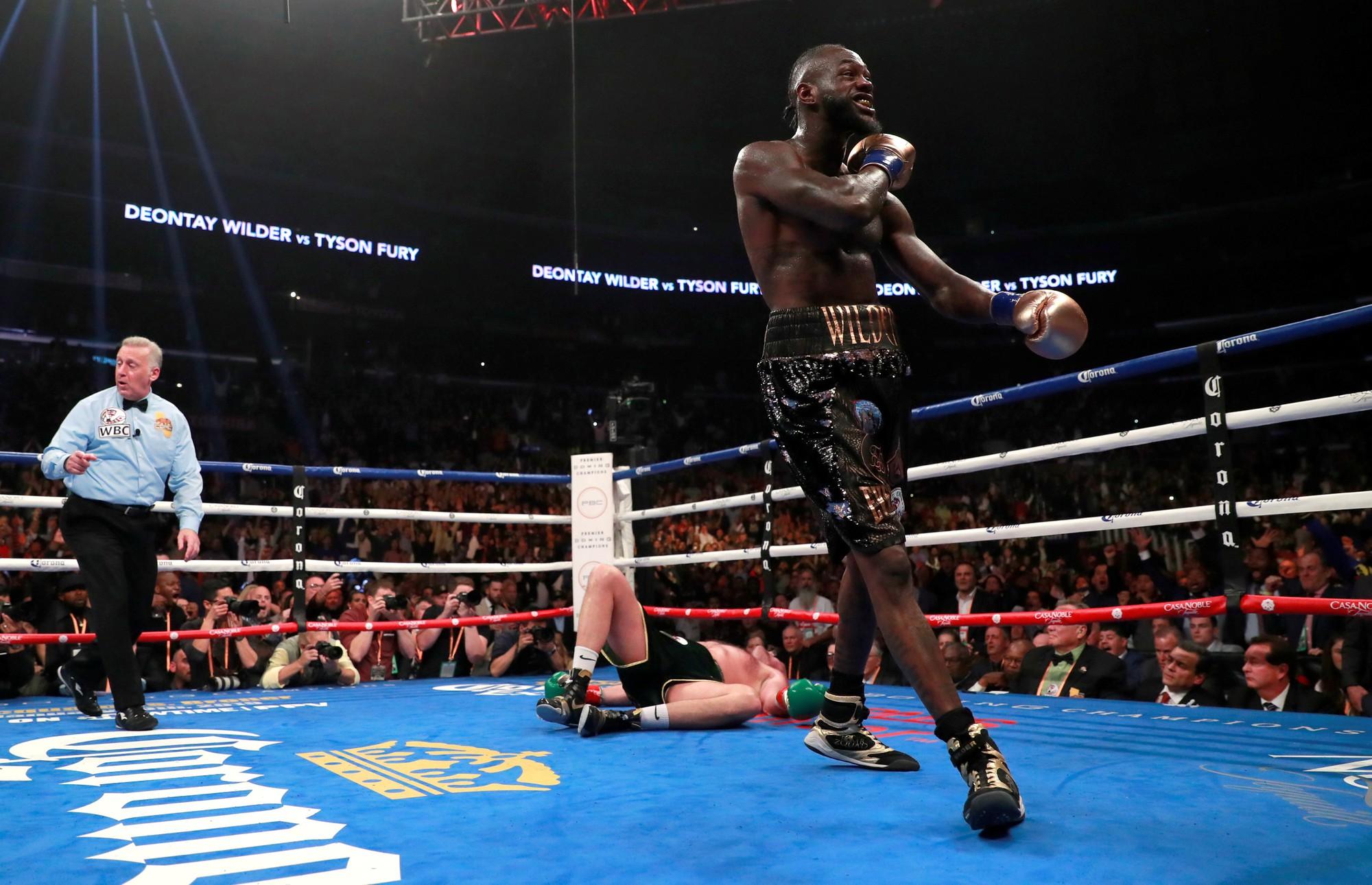 Trang bình luận Boxingscene chấm Tyson Fury thắng rõ rệt trước Deontay Wilder - Ảnh 4.