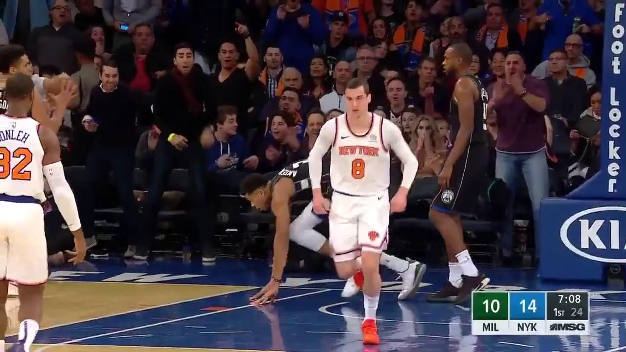 Giannis Antetokounmpo đòi đấm cầu thủ của New York Knicks - Ảnh 1.