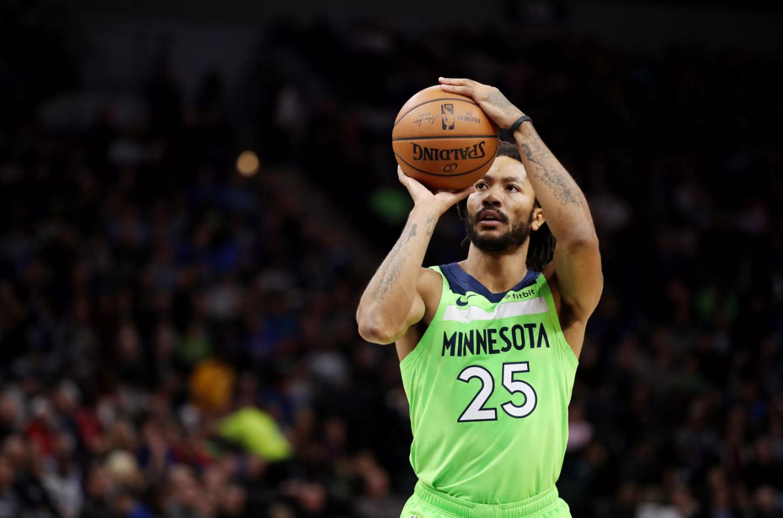 Derrick Rose vượt Stephen Curry để trở thành hậu vệ ném 3 tốt nhất NBA hiện tại - Ảnh 1.