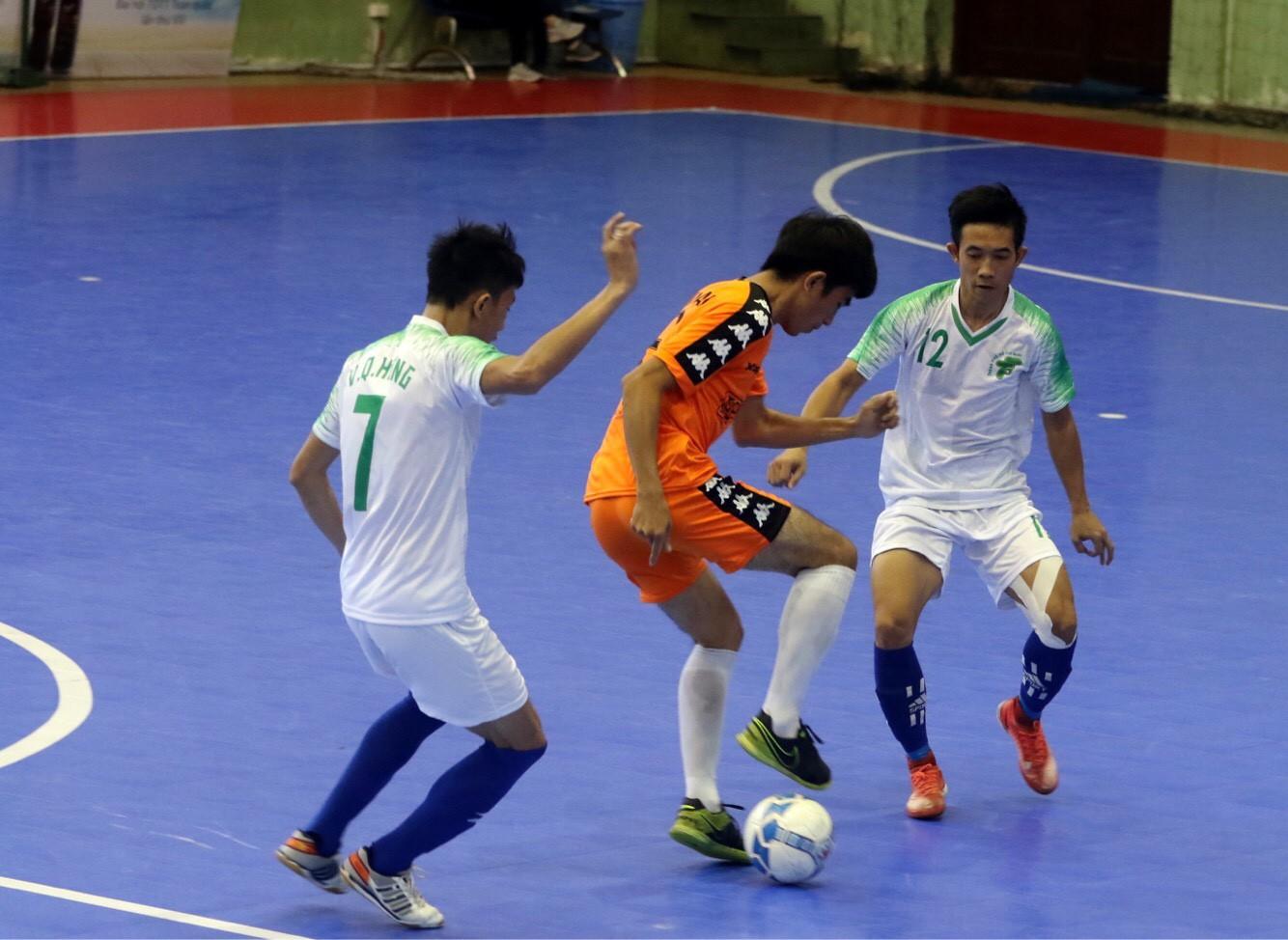 TP.HCM hủy diệt đối thủ ở môn Futsal nam đại hội thể thao toàn quốc  - Ảnh 1.