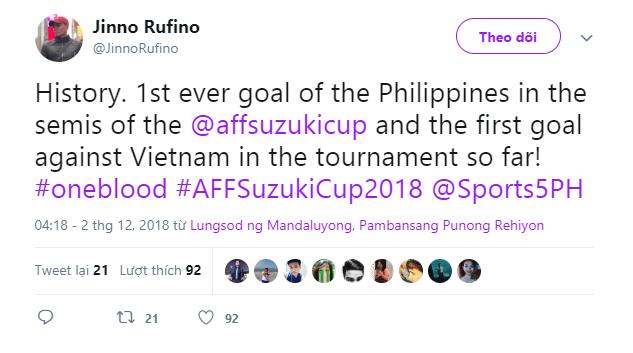 Cộng đồng mạng sửng sốt khi Việt Nam thủng lưới bàn đầu tiên ở AFF Cup - Ảnh 2.