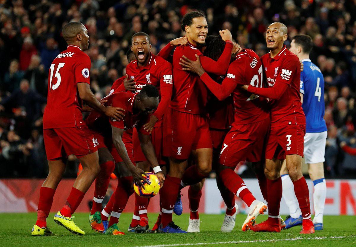 Video kết quả vòng 14 Ngoại hạng Anh 2018/19: Liverpool - Everton - Ảnh 1.