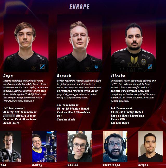 Đội hình khu vực LCS tại All-Star 2018 - Ảnh 1.