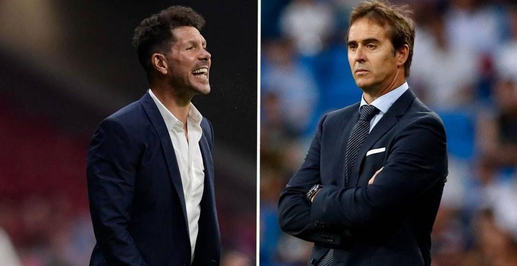 Trước Lopetegui, thành tích đối đầu của 4 đời HLV Real Madrid với Diego Simeone như thế nào? - Ảnh 1.