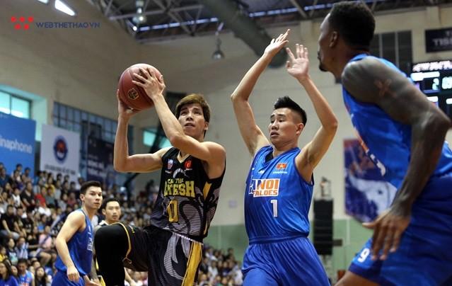 Chung kết bóng rổ VBA 2018, game 1: Cantho Catfish 80-76 Hanoi Buffaloes - Ảnh 2.