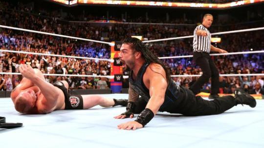 Ronda Rousey lên ngôi, Brock Lesnar mất đai vô địch tại WWE - Ảnh 4.