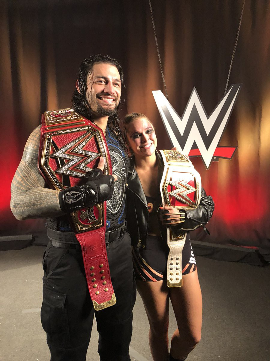 Ronda Rousey lên ngôi, Brock Lesnar mất đai vô địch tại WWE - Ảnh 7.