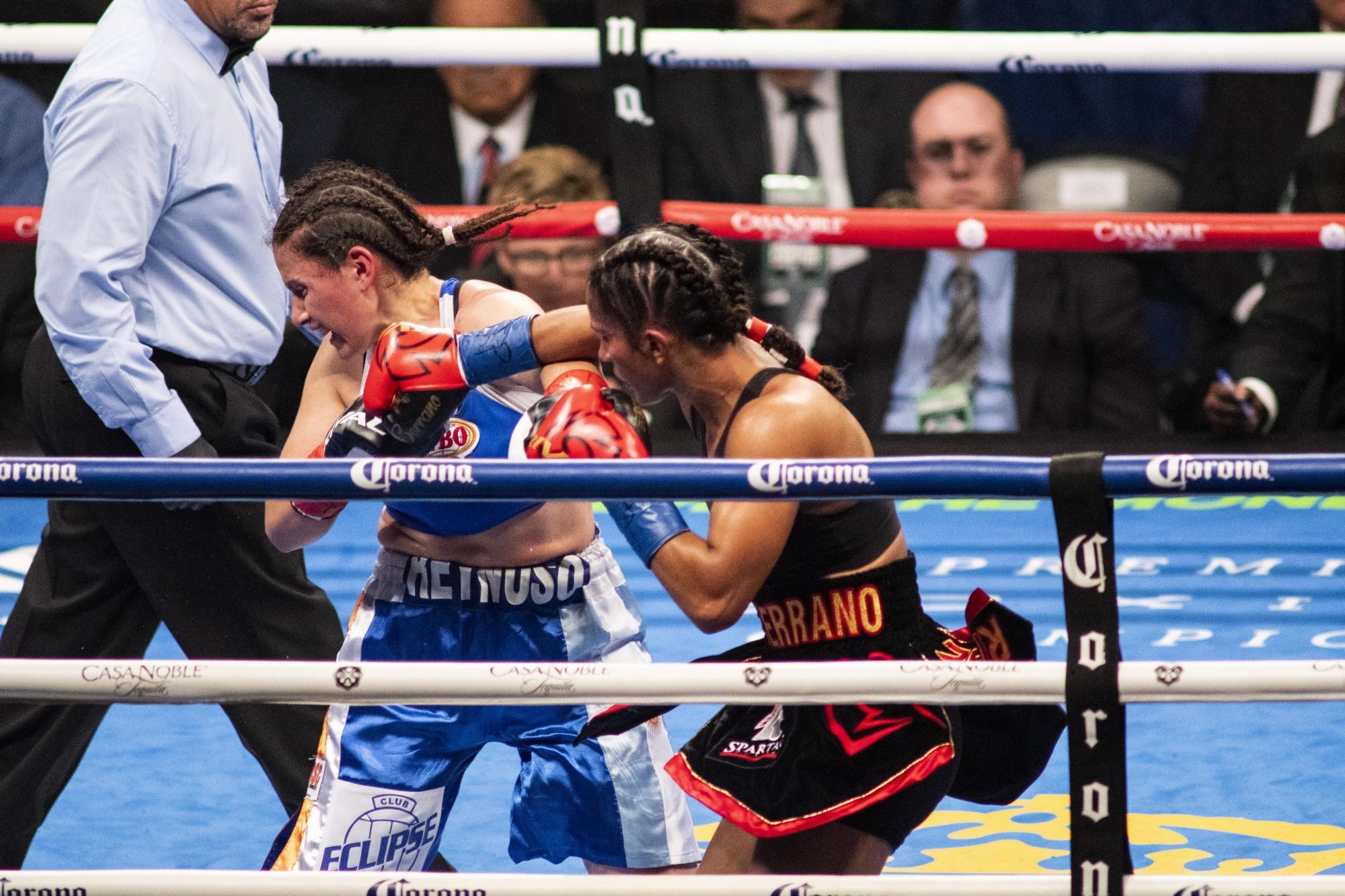 Cô gái Puerto Rico 29 tuổi trở thành nhà vô địch 6 hạng cân đầu tiên của giới Quyền Anh nữ - Ảnh 1.