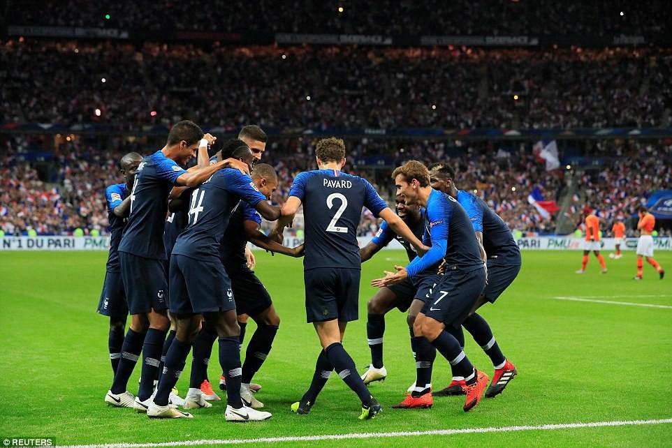 Kỷ lục của Giroud và top 5 thống kê nổi bật trong chiến thắng của Pháp trước Hà Lan - Ảnh 6.