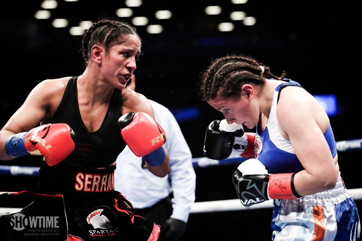 Cô gái Puerto Rico 29 tuổi trở thành nhà vô địch 6 hạng cân đầu tiên của giới Quyền Anh nữ - Ảnh 3.